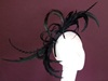 Edel Staunton Millinery Black Feather Array